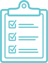 a checklist icon; use this link to access an enrollment form