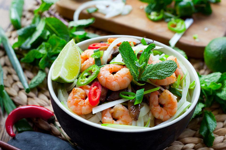 Thai Chili Shrimp Salad